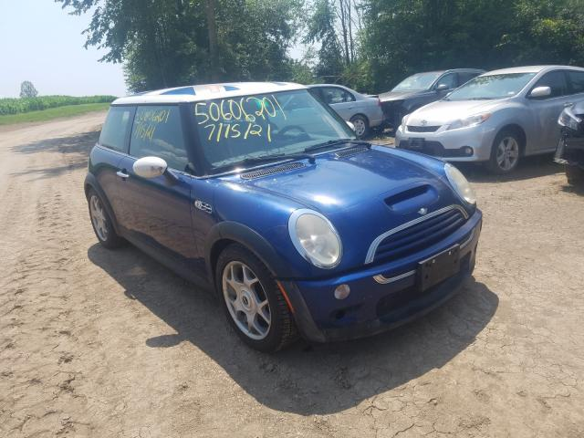 Salvage cars for sale from Copart West Warren, MA: 2004 Mini Cooper S