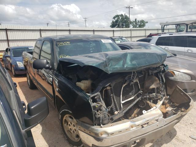 Salvage trucks for sale at Oklahoma City, OK auction: 2003 Chevrolet Silverado