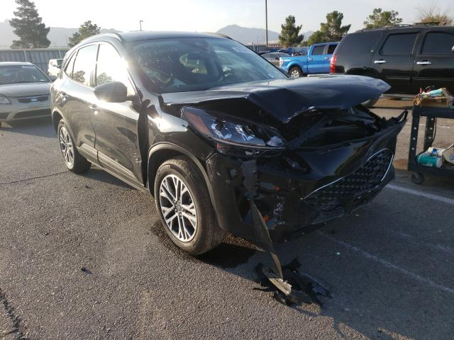 Salvage cars for sale from Copart Anthony, TX: 2021 Ford Escape SEL