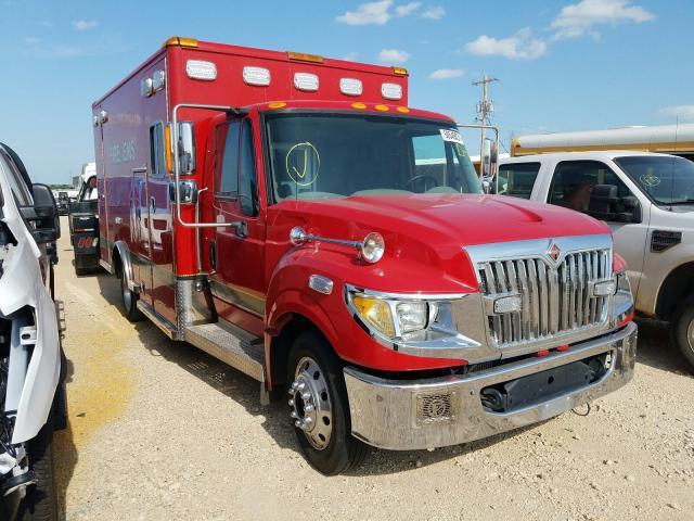 Salvage cars for sale from Copart Abilene, TX: 2016 International Terrastar