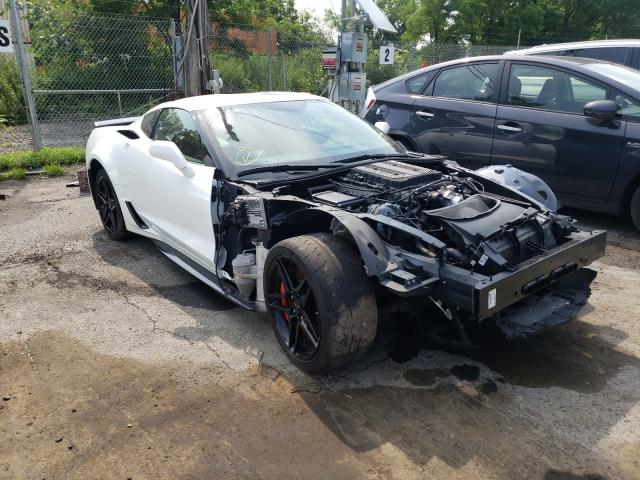 Salvage cars for sale from Copart Marlboro, NY: 2019 Chevrolet Corvette Z