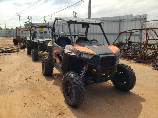 Salvage motorcycles for sale at Oklahoma City, OK auction: 2016 Polaris RZR S 900