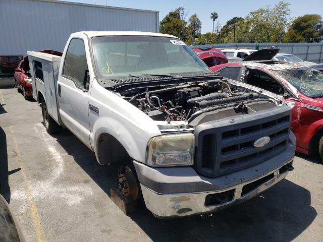 Salvage cars for sale from Copart Vallejo, CA: 2006 Ford F250 Super