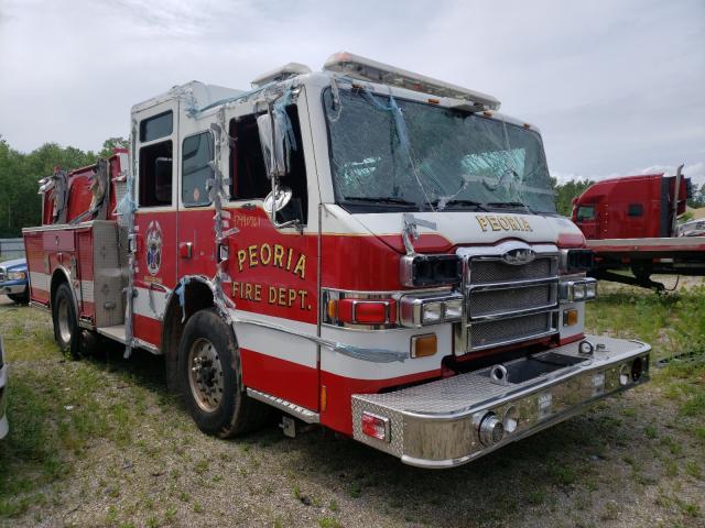 Vehiculos salvage en venta de Copart Elgin, IL: 2009 Pier Firetruck
