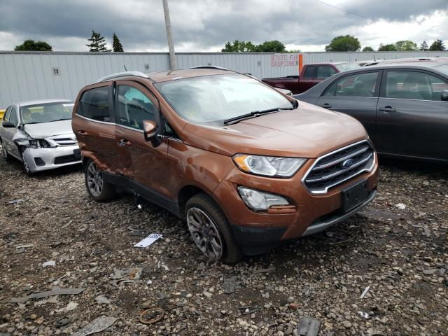 Ford Ecosport T salvage cars for sale: 2018 Ford Ecosport T