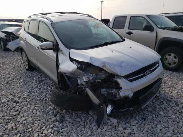 Salvage cars for sale from Copart Lawrenceburg, KY: 2015 Ford Escape Titanium