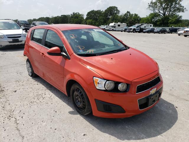 Salvage cars for sale from Copart Rogersville, MO: 2013 Chevrolet Sonic LT