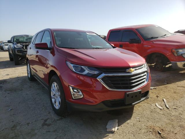 Salvage cars for sale from Copart Temple, TX: 2019 Chevrolet Equinox LT