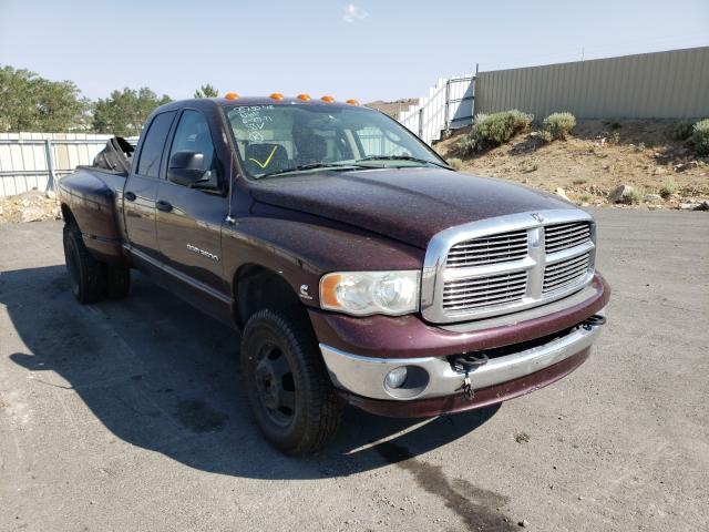 Salvage cars for sale from Copart Reno, NV: 2004 Dodge RAM 3500 S