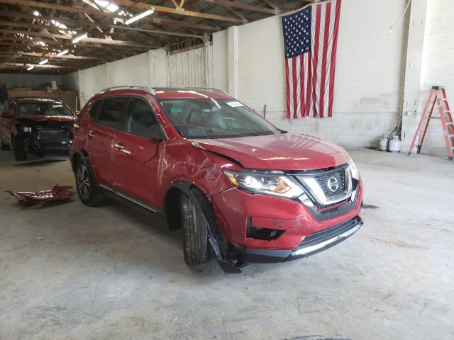 Salvage cars for sale from Copart Cartersville, GA: 2017 Nissan Rogue S