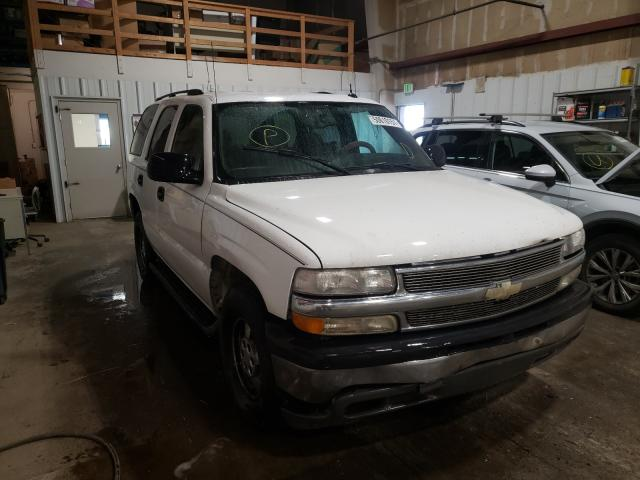 Salvage cars for sale from Copart Anchorage, AK: 2005 Chevrolet Tahoe C150