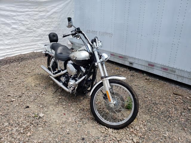 Salvage cars for sale from Copart Charles City, VA: 2003 Harley-Davidson Fxdwg Anni