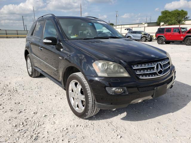 Salvage cars for sale from Copart Haslet, TX: 2008 Mercedes-Benz ML 350