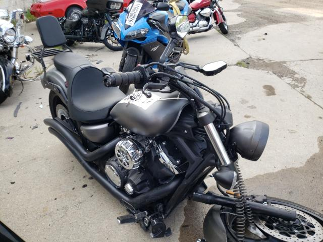 Salvage cars for sale from Copart Woodhaven, MI: 2014 Yamaha XVS1300 CU