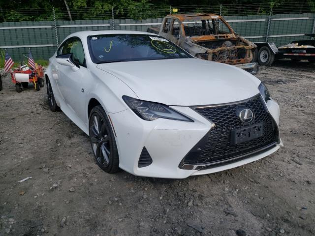 Salvage cars for sale from Copart Candia, NH: 2019 Lexus RC 350