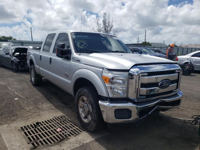 Salvage cars for sale from Copart Miami, FL: 2016 Ford F250 Super
