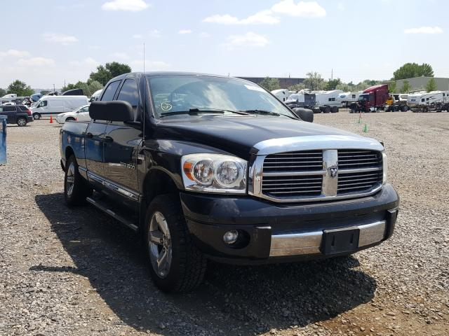 Salvage cars for sale from Copart Billings, MT: 2007 Dodge RAM 1500 S