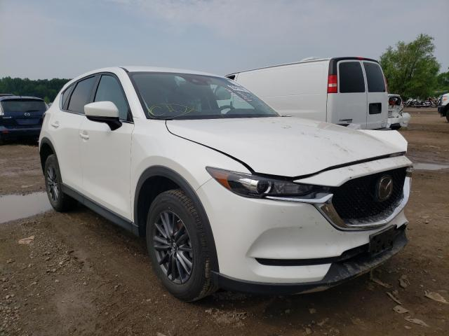 Salvage cars for sale from Copart Columbia Station, OH: 2020 Mazda CX-5 Touring