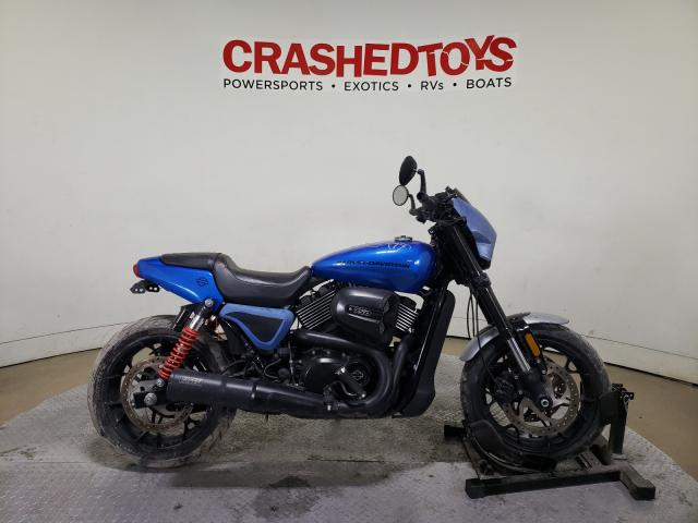 Salvage cars for sale from Copart Dallas, TX: 2018 Harley-Davidson XG750A STR