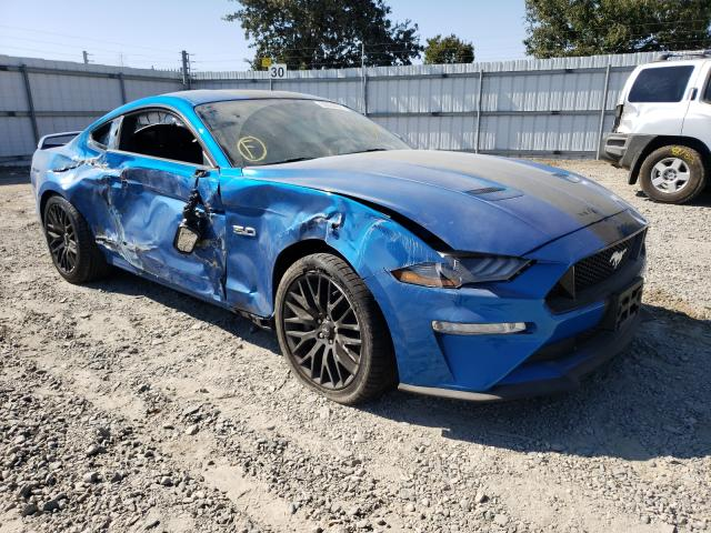 Ford salvage cars for sale: 2019 Ford Mustang GT