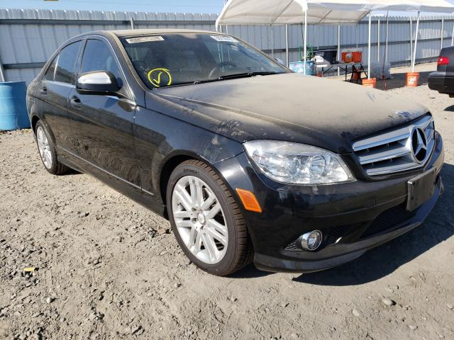 Mercedes-Benz salvage cars for sale: 2009 Mercedes-Benz C300