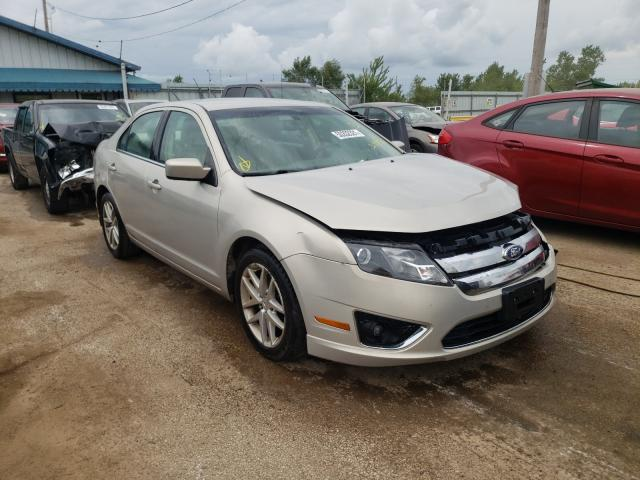 Salvage cars for sale from Copart Pekin, IL: 2010 Ford Fusion SEL