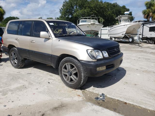 Salvage cars for sale from Copart Punta Gorda, FL: 1998 Lexus LX 470