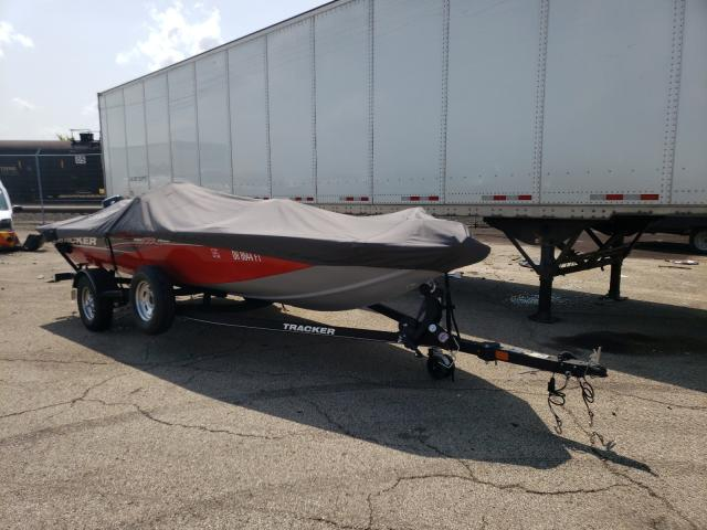Salvage boats for sale at Moraine, OH auction: 2018 Tracker PT175