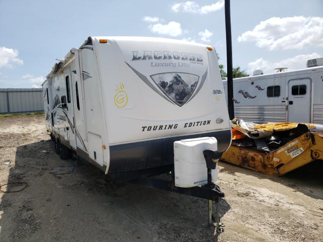 Salvage cars for sale from Copart Temple, TX: 2012 Lacrosse Trailer