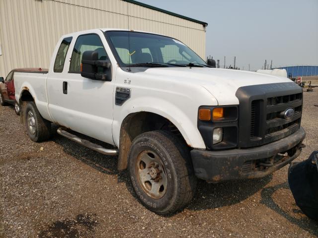 Vehiculos salvage en venta de Copart Rocky View County, AB: 2008 Ford F250 Super