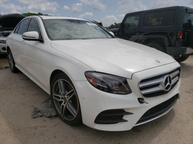 Salvage cars for sale from Copart Riverview, FL: 2019 Mercedes-Benz E 300