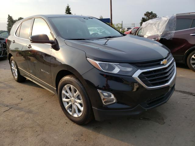 Salvage cars for sale from Copart Woodhaven, MI: 2019 Chevrolet Equinox LT