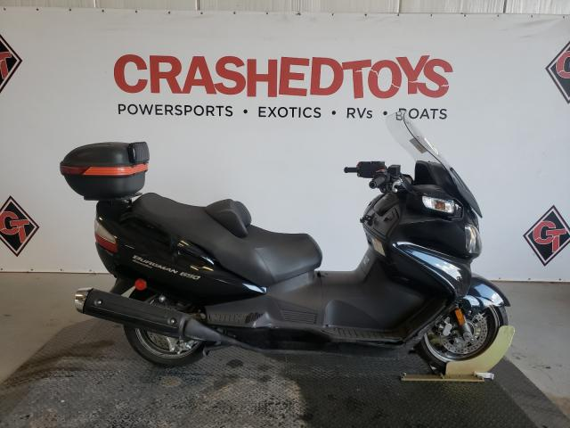 Salvage cars for sale from Copart Sikeston, MO: 2009 Suzuki AN650 A