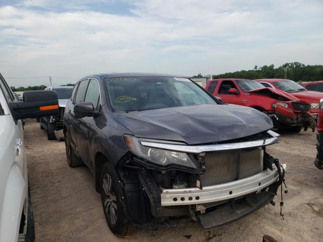 Vehiculos salvage en venta de Copart Oklahoma City, OK: 2017 Honda Pilot EXL