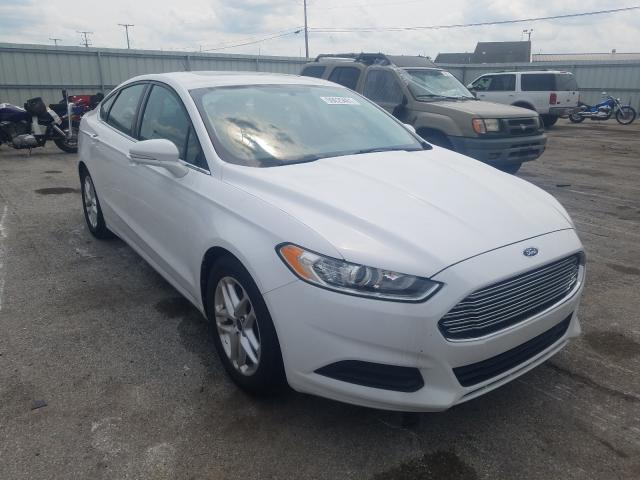 Flood-damaged cars for sale at auction: 2013 Ford Fusion SE