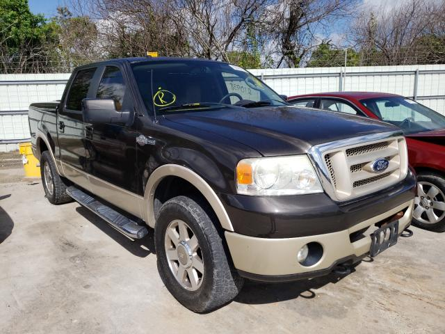 Salvage cars for sale from Copart Corpus Christi, TX: 2007 Ford F150 Super