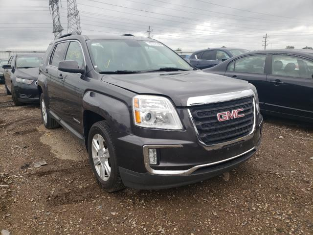 Salvage cars for sale from Copart Elgin, IL: 2016 GMC Terrain SL
