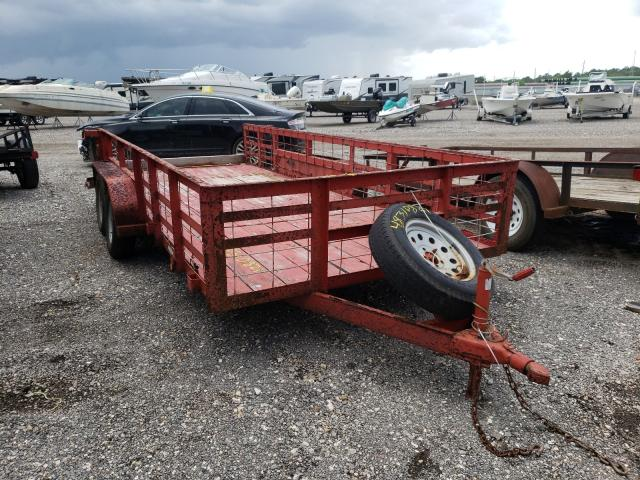 Utility salvage cars for sale: 2016 Utility Trailer