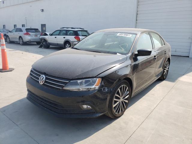 2016 Volkswagen Jetta Spor 1.8L, VIN: 3VWD17AJ0GM416407, аукцион: COPART, номер лота: 50570961