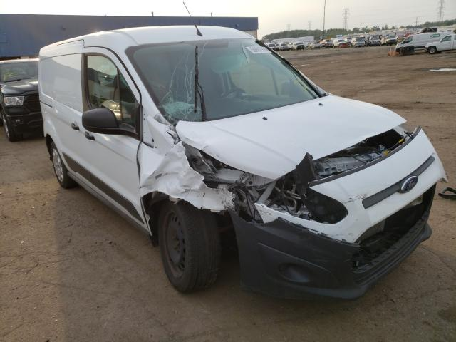 Salvage cars for sale from Copart Woodhaven, MI: 2017 Ford Transit CO