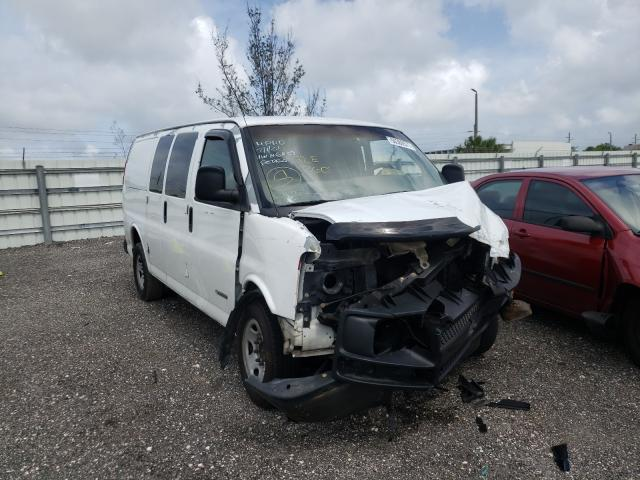 Salvage cars for sale from Copart Miami, FL: 2003 Chevrolet Express G2