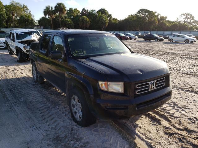 Salvage cars for sale from Copart Fort Pierce, FL: 2006 Honda Ridgeline