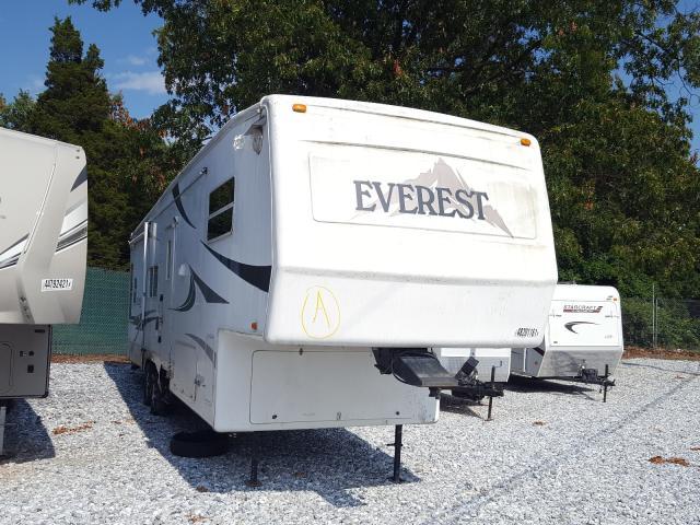 Keystone Everest salvage cars for sale: 2003 Keystone Everest