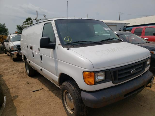 Salvage cars for sale from Copart Pekin, IL: 2006 Ford Econoline