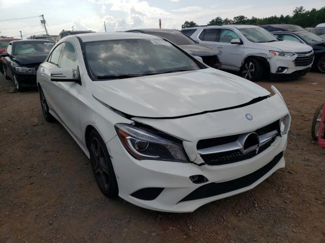Salvage cars for sale from Copart Hillsborough, NJ: 2014 Mercedes-Benz CLA 250 4M