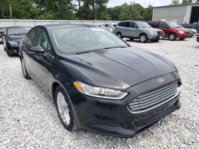 Salvage cars for sale from Copart Rogersville, MO: 2013 Ford Fusion SE