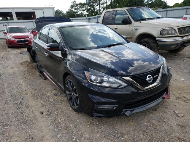 Salvage cars for sale from Copart Florence, MS: 2018 Nissan Sentra SR