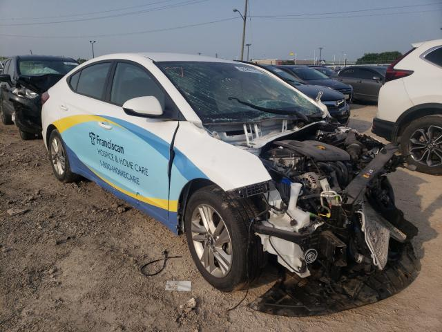 Salvage cars for sale from Copart Indianapolis, IN: 2019 Hyundai Elantra SE