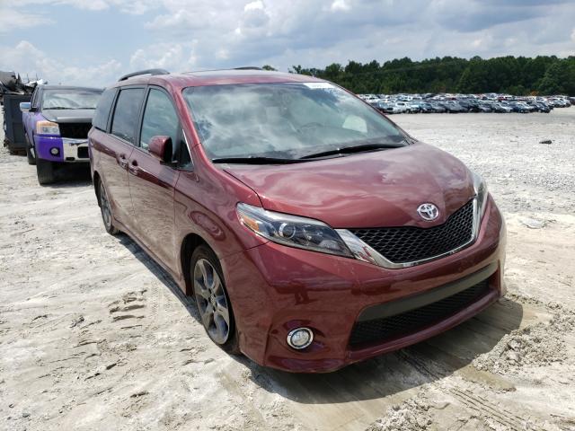 Vehiculos salvage en venta de Copart Loganville, GA: 2016 Toyota Sienna SE