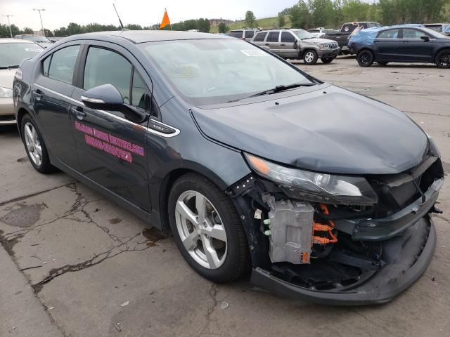 Chevrolet Volt salvage cars for sale: 2012 Chevrolet Volt
